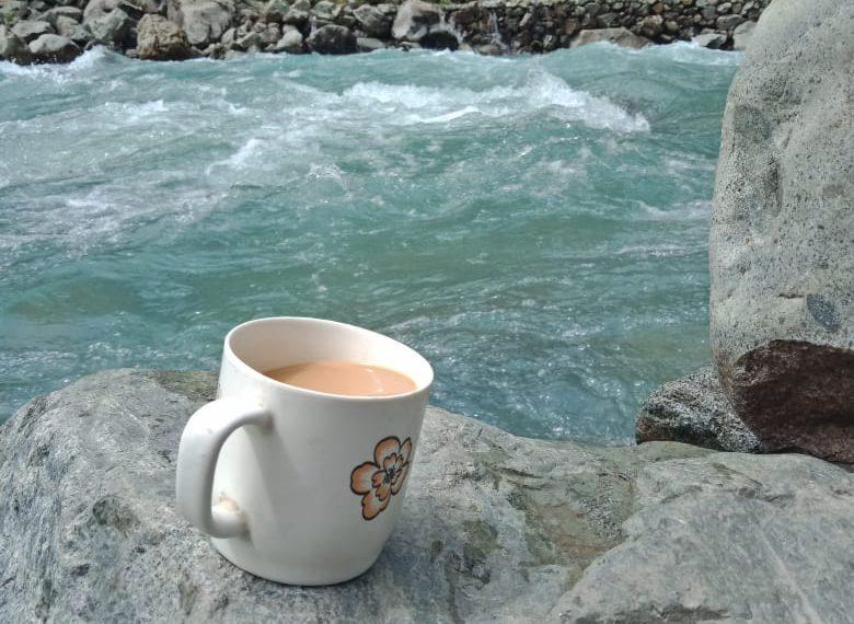Darya e Swat and the cup of tea by Hamza Karim