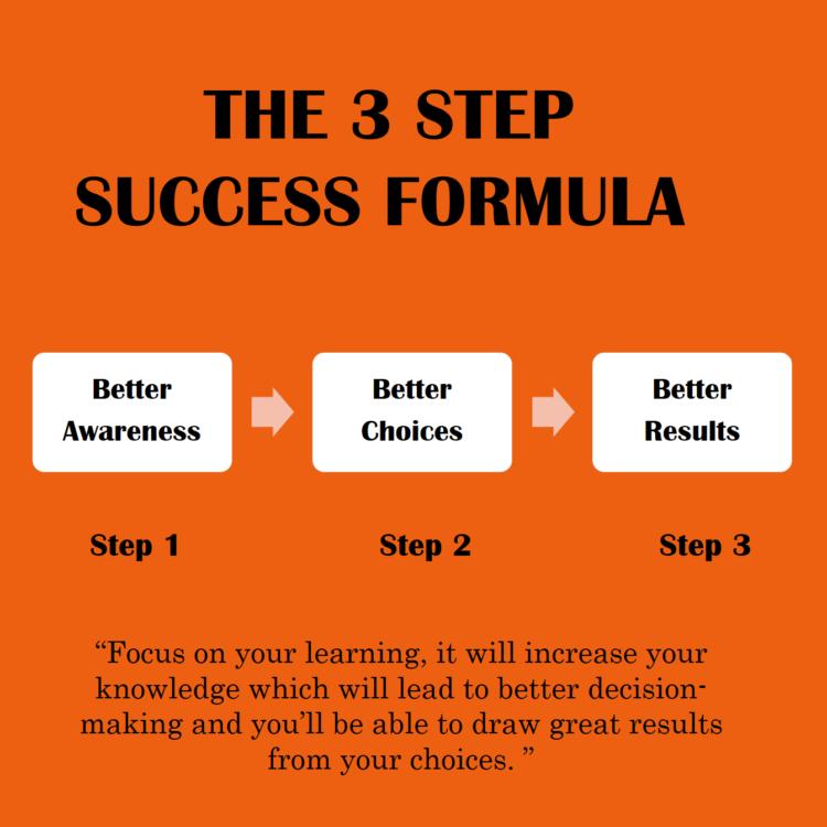 3 step success formula by robin sharma