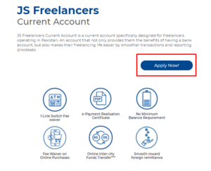 how to apply for JS freelancer account