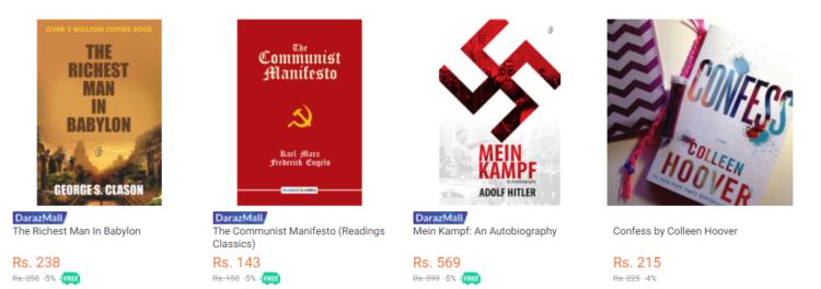 Daraz pk - best online bookstores in pakistan