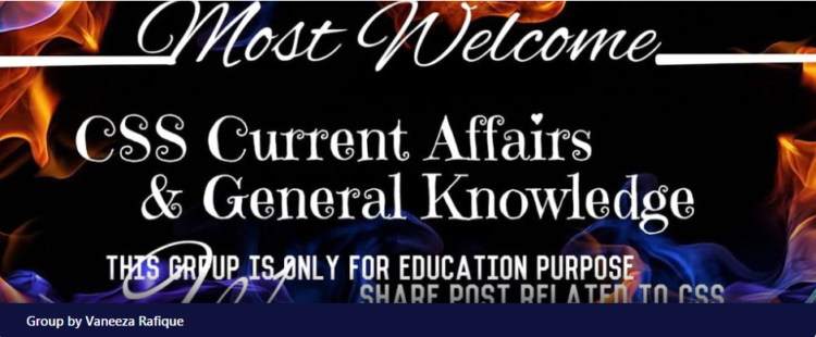 CSS current affairs and general knowledge